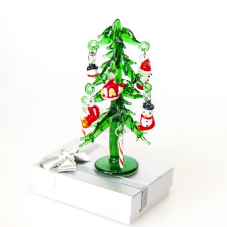 New Year tree from the Venetian glass - a typical souvenir from Venice
