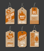 Autumn Sales Labels
