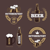 Beer label templates for beer house brewing company pub and bar