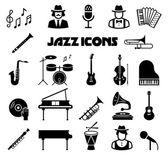 Sada ikon jazzového vektor