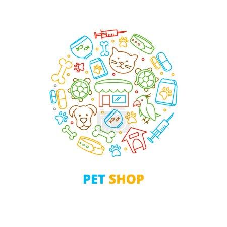 Pet shops veterinary clinics and