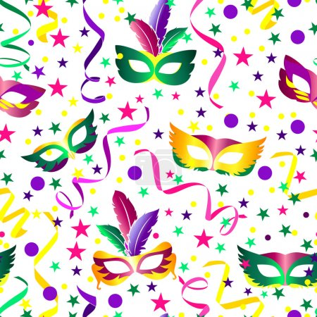 Carnival seamless background