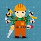 Builder with many arms