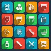 Publisher and printing house icons