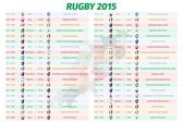 Rugby World Cup games schedule Team and timetable time and date graph group sport championship