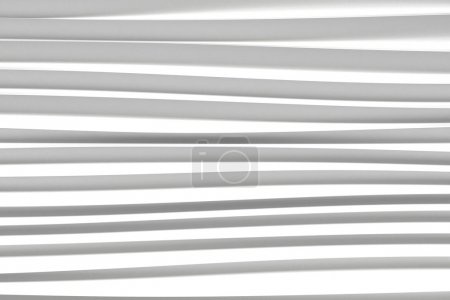 background of white 3d abstract waves