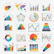 Business Infographic icons. Vector illustration. c...