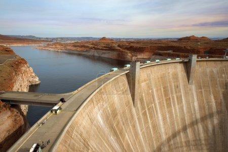Glen Canyon Dam, Colorado River, Arizona, United States
