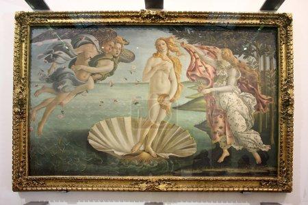 Birth of Venus, painting Sandro Botticelli