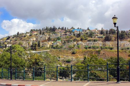 Residential area on Mount Canaan, Safed, Israel