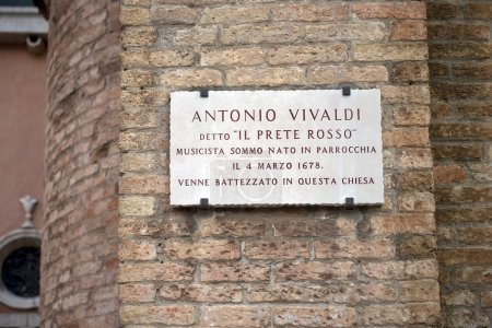 In this church was baptized Antonio Vivaldi, Venice