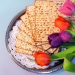 Jewish holiday of Passover and its attributes, wit...