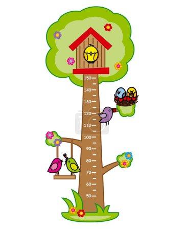 Bumper children meter wall.