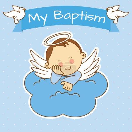 Baby boy baptism