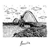 Juscelino Kubitschek Bridge also called President JK Bridge or JK Bridge