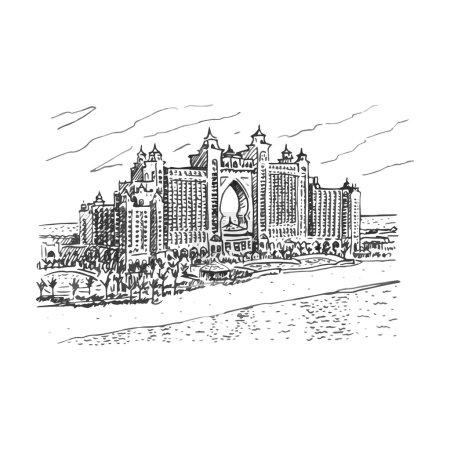 Hotel Atlantis, The Palm, Dubai, UAE.