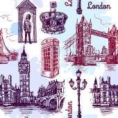 london sketch illustration