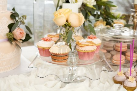 Sweets  cake candy pastry cooking banquet buffet sweet table wedding celebration beautiful tenderness party birthday decorations decorator outdoors open air