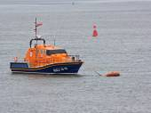 The Mollie Hunt, the RNLI lifeboat for the North Devon coast