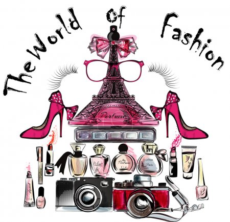 ifel tower shoes lipsticks perfumes and cameras the world of fas