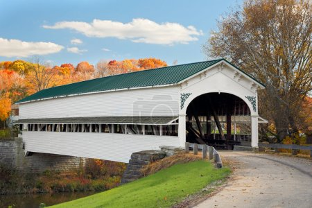 Covered Bridge at Westport