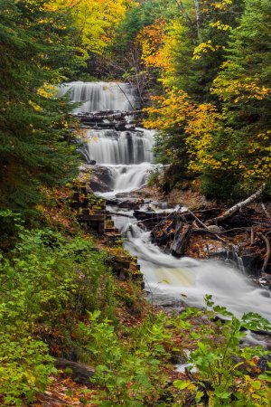 Sable Falls at Pictured Rocks
