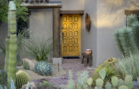 Desert luxury outdoor curb style
