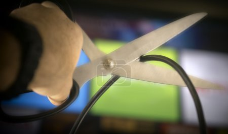 Cutting cable tv