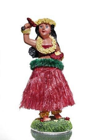Hula Girl Statue