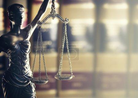 Photo pour Image concept juridique de droit - image libre de droit