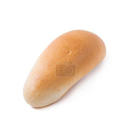 Hot dog bun Isolated on white background