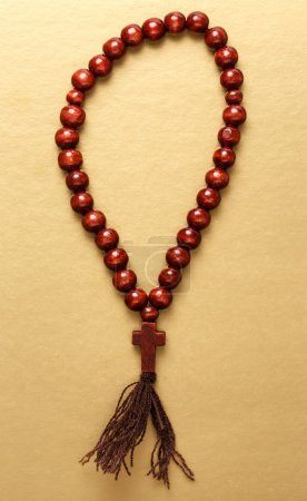 Rosary wooden beads