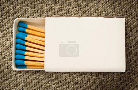 Blank box of matches