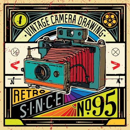 Drawing camera poster