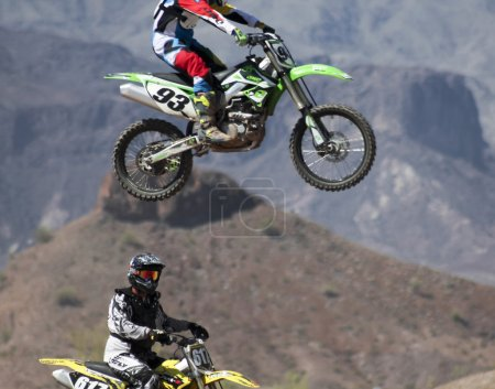 A Pair of Motocross Racers