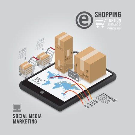 Social Media Marketing template design