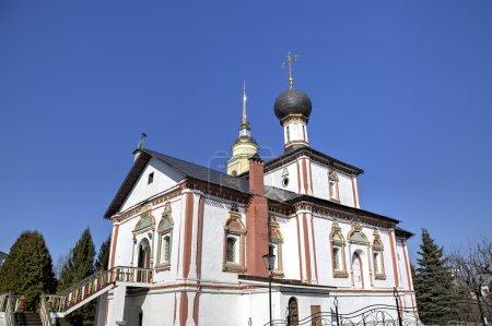 Photo pour Sainte église de la Trinité. Monastère Novo Golutvin à Kolomna Kremlin. Russie - image libre de droit
