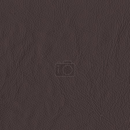 Photo for Dark brown leather texture as background for design-works - Royalty Free Image