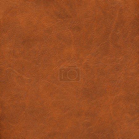 Photo pour Rlight texture de cuir marron. Utile comme toile de fond - image libre de droit