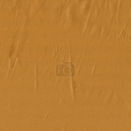 Photo pour Texture de tissu froissé jaune. Utile pour le contexte - image libre de droit