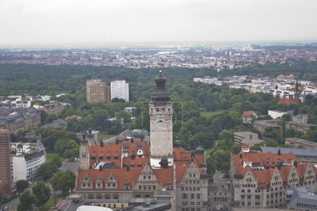 View of the Leipzig