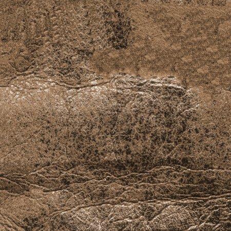 Photo pour Texture cuir marron usé - image libre de droit
