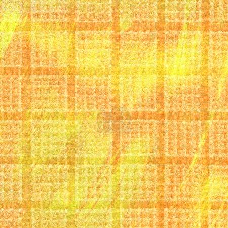 Reddish-yellow plaid  background
