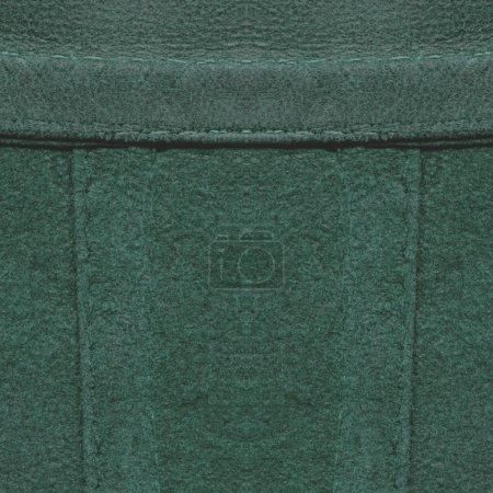 dark green leather texture, seams, stitches
