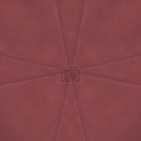 red leather background, seams