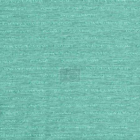 Photo pour Texture de tissu turquoise comme fond - image libre de droit