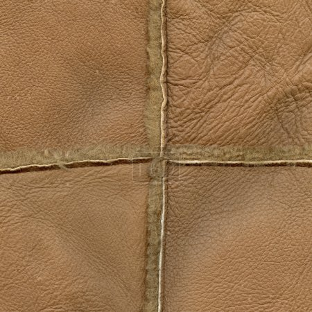 brown leather texture, seams