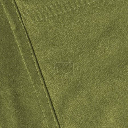 green leather texture, seam, stitch