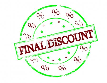 Final discount stamp