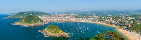 Panorama of San Sebastian